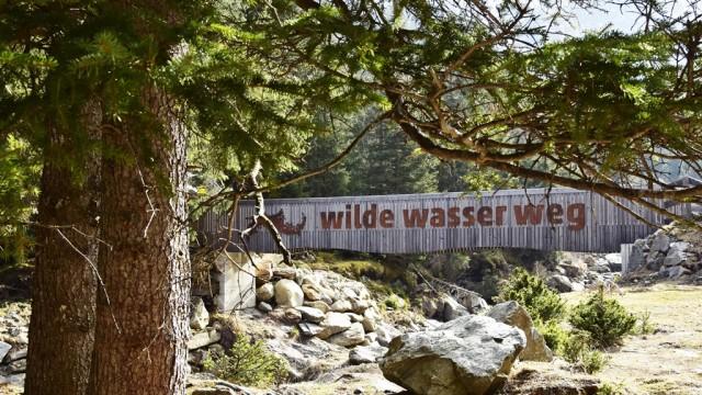 Wilde-Wasser-Weg, Stubai (Gesamt oder Einzel-Etappen)