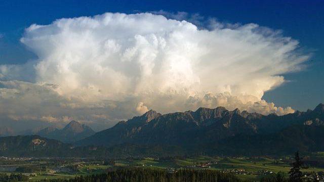 Gewitter im Gebirge!