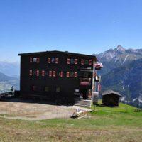 Elfer Hütte / Start der Tour