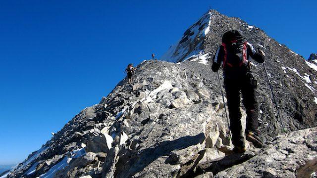 Gehtechnik & Trittsicherheit am Berg